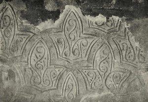 Мавзолей Хаким-аль-Термези в Термезе. Резьба по стуку. IX в.