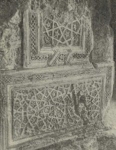 Термез. Дворец термезских правителей. Орнаментация пилона северной стороны