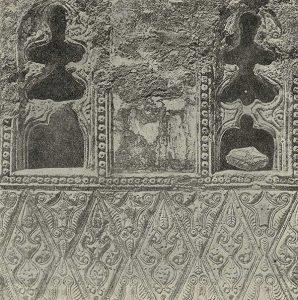 Резьба по стуку из частных домов Самарры. IX в. 1-й стиль