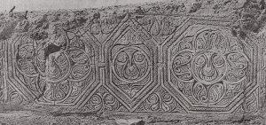 Резьба по стуку из частных домов Самарры. IX в. 2-й стиль