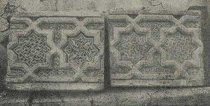 Резные терракотовые плиты от неизвестного здания в Узгене. XII-XIII вв.