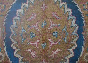 Фрагмент турецкой (османской) ткани с мотивом ислими