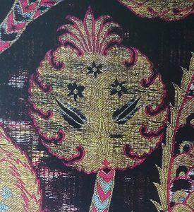 Фрагмент турецкой (османской) ткани с мотивом граната