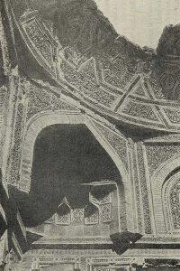 Мазар Баян-Кули-хана. Бухара. 1358 г. Деталь изразцовой декорации
