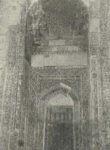 Самарканд. Шах-и-Зинда. Мавзолей 1405 г. Общий вид