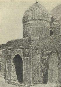 Мечеть Ессеви в г. Туркестане. 1397 г. Мавзолей Ессеви
