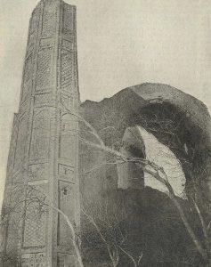 Самарканд. Мечеть Биби-Ханым. 1399-1403 гг. Деталь портала Главной мечети