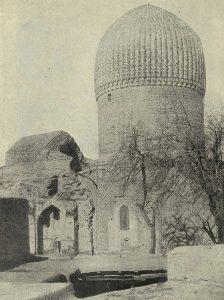 Самарканд. Гур-Эмир. 1404-1405 гг. Общий вид