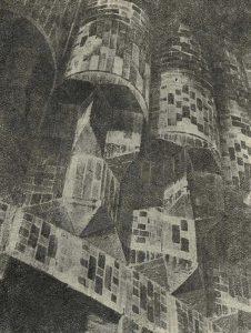 Самарканд. Гур-Эмир. Деталь облицовки сталактитов купола