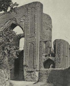 Самарканд. Мавзолей Ишрат-хана. Ок. 1464 г. Вид до 1903 г.