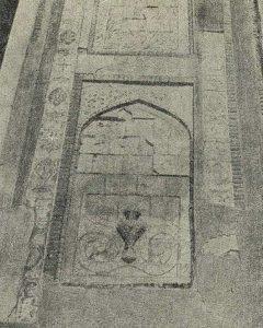 Деталь изразцовой декорации медресе Абдул-Азис-хана