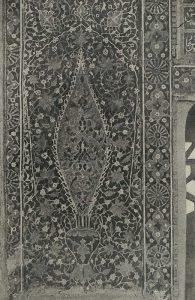 Мозаичное панно в медресе Шир-Дор в Самарканде
