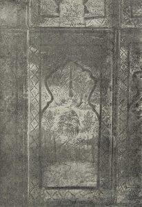 Мавзолей Биби-Ханым. XIV-XV вв. Панно с пейзажем