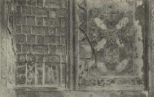 Живопись в мавзолее Ишрат-хана в Самарканде