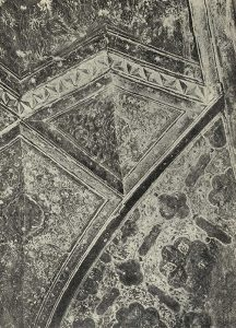 Деталь росписи мавзолея Ак-Сарай в Самарканде
