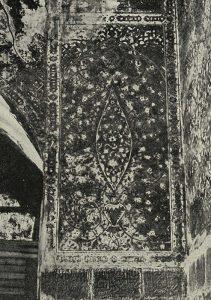 Самарканд. Медресе Тилля-Кари. XVII в. Роспись в мечети