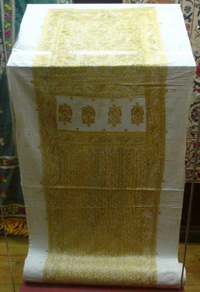 Салла - полоса ткани для закручивания чалмы. Средняя Азия. Первая четверть XX в.