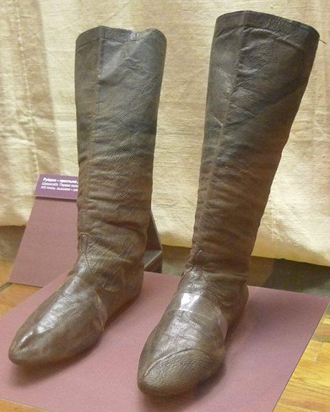 Ичиги - сапоги кожаные. Средняя Азия, первая четверть XX в.