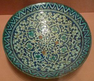 Блюдо бадия. Узбекистан, регион Хорезма, нач. XX в.