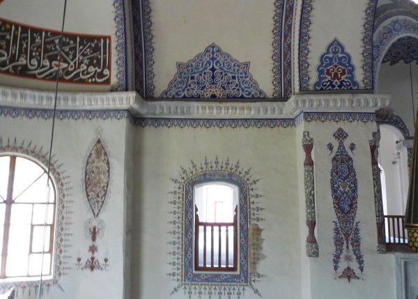 Интерьер мечети Малая Айя-София (Стамбул)