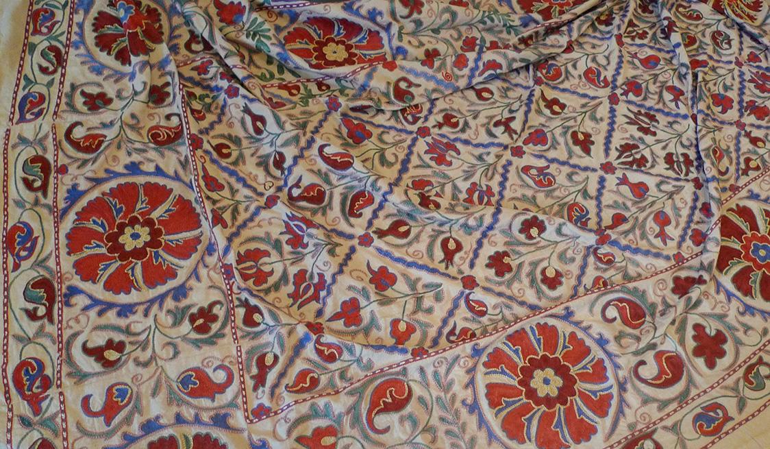 «И шелк привидится в дыхании песков… Хранители вышивки Узбекистана»