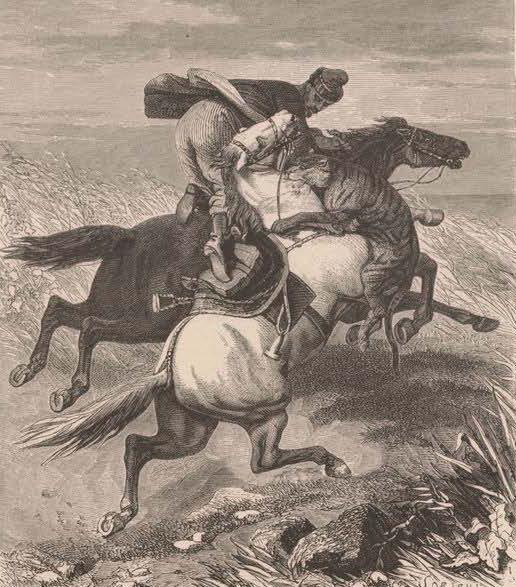Киргиз в схватке с тигром