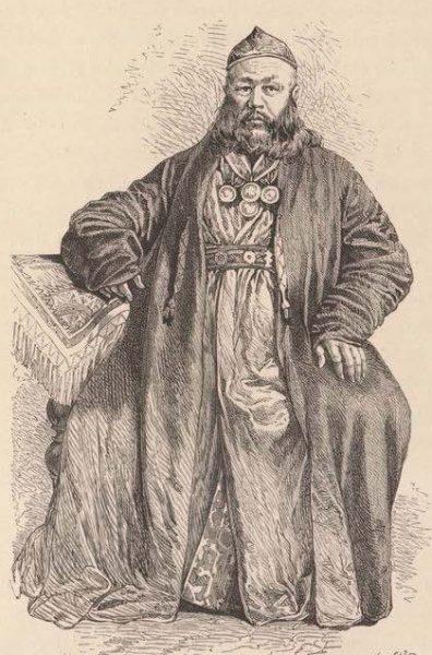 Киргизский султан