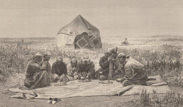Киргизы за едой