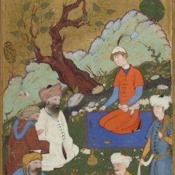 Персидские и турецкие миниатюры из фонда Национальной библиотеки Франции
