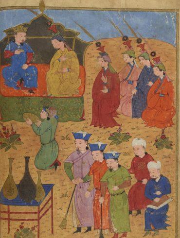Peintures des manuscrits arabes, persans et turcs de la Bibliothèque Nationale de France