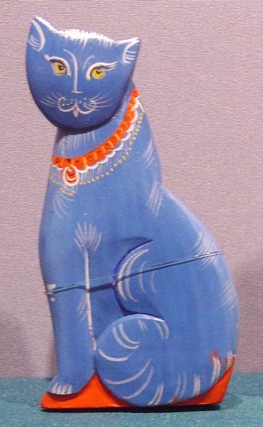 "Кошка ""Муська"". Е.Н. Староверова. 1997 г."