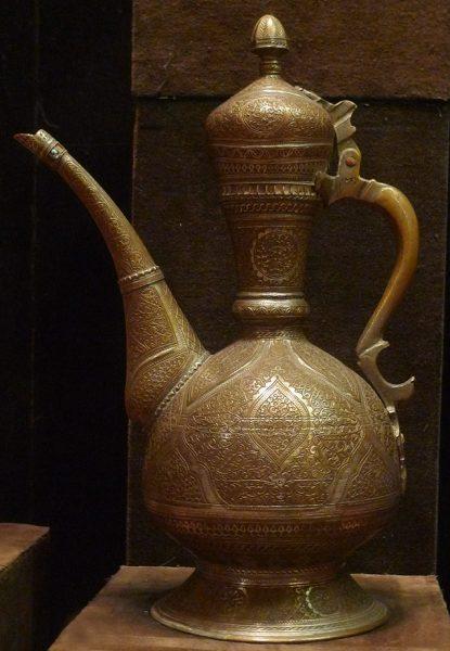 Кувшин для воды афтоба. Узбекистан, г. Бухара, кон. XIX в.