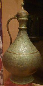 Кувшин для воды афтоба. Узбекистан, кон. XIX в.