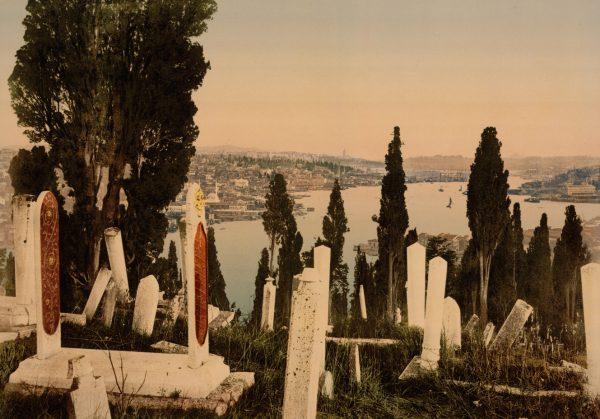 Часть кладбища Эйюб (Уйюп), Константинополь