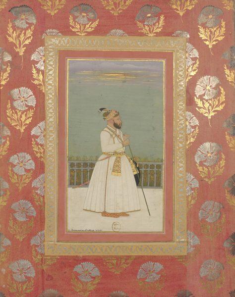 Камар уд-Дин. Могольская школа, около 1735 г.