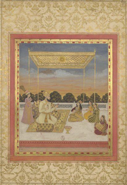 Мухаммад Хан Бангаш. Могольская школа, около 1730 г.