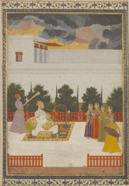 Самсам уд-Даула Хан Дауран. Могольская школа, около 1730 г.