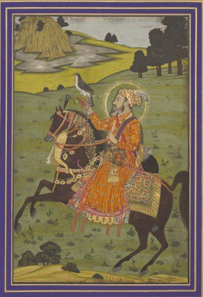 Шах Джахан на охоте. Муршидабад, около 1760 г.