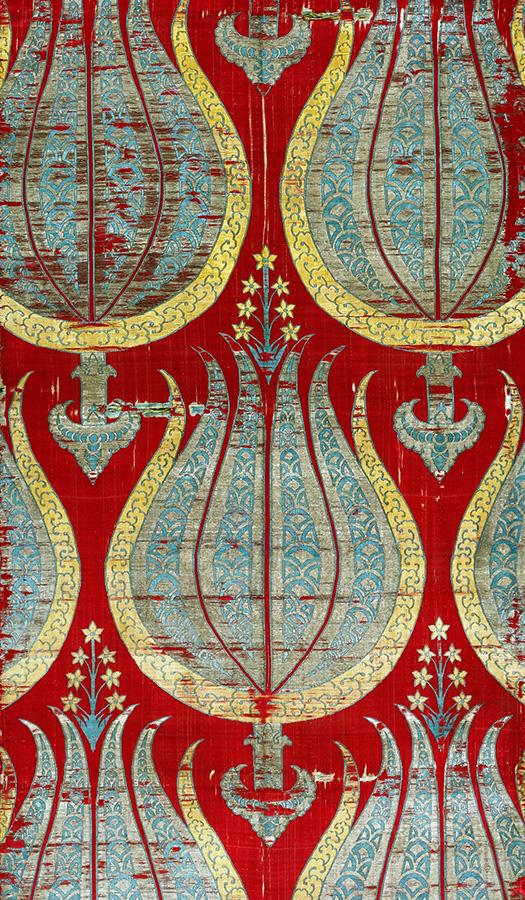 Турецкие исторические ткани из коллекций зарубежных музеев