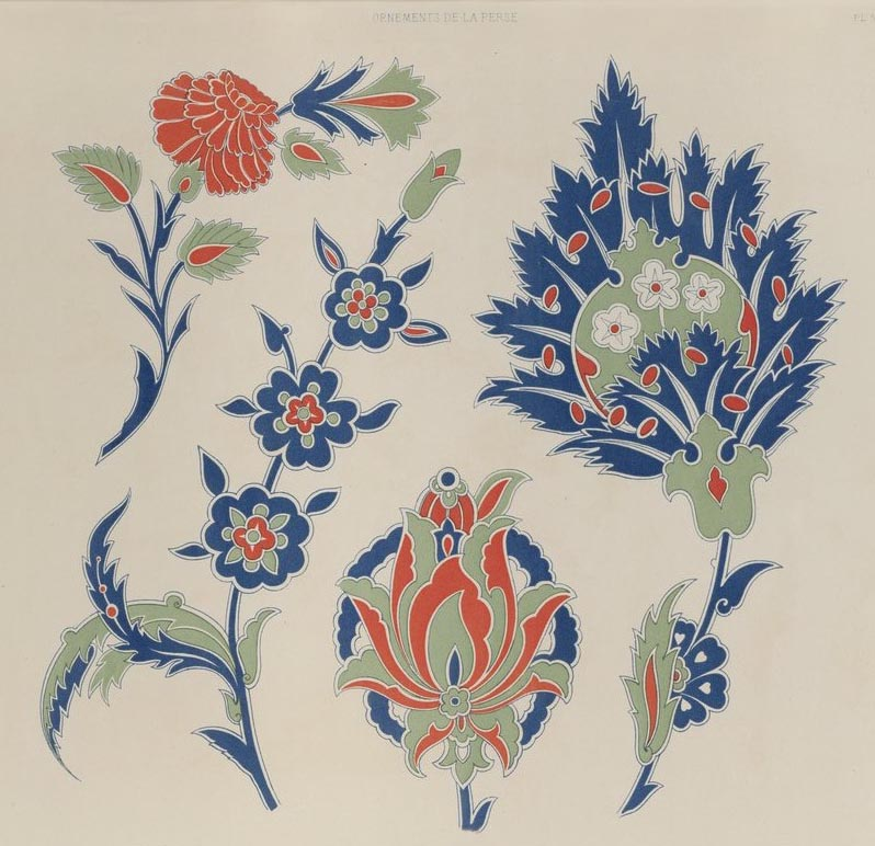 Собрание персидских орнаментов